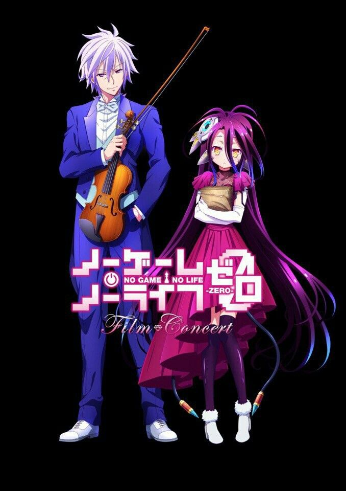 No Game No Life Zero Shuvi And Riku No Game No Life Pinterest