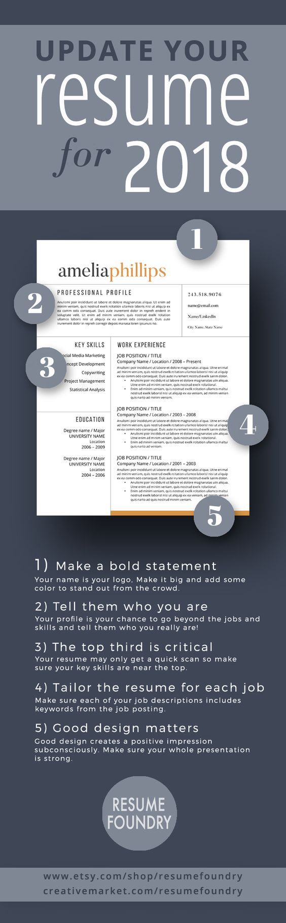 contoh format resume%0A Modern Resume Template  u     Cover Letter   Icon Set for Microsoft Word      Page Pack   Professional CV   Instant Download   The   Scandi     Modern  resume
