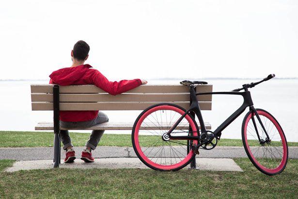 Vanhawks Valour Carbon Fiber Smart Bicycle for Smart Riding