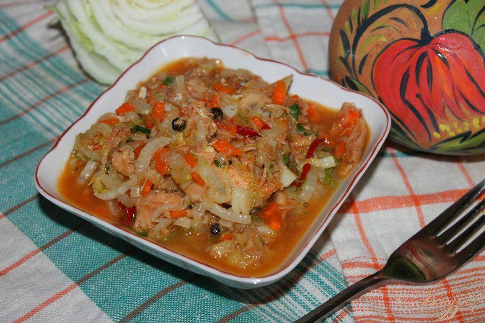 Курица, тушеная с пекинской капустой: рецепт пошагово ...