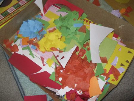 We love scrap paper, such a great item for many crafts! | Scrap