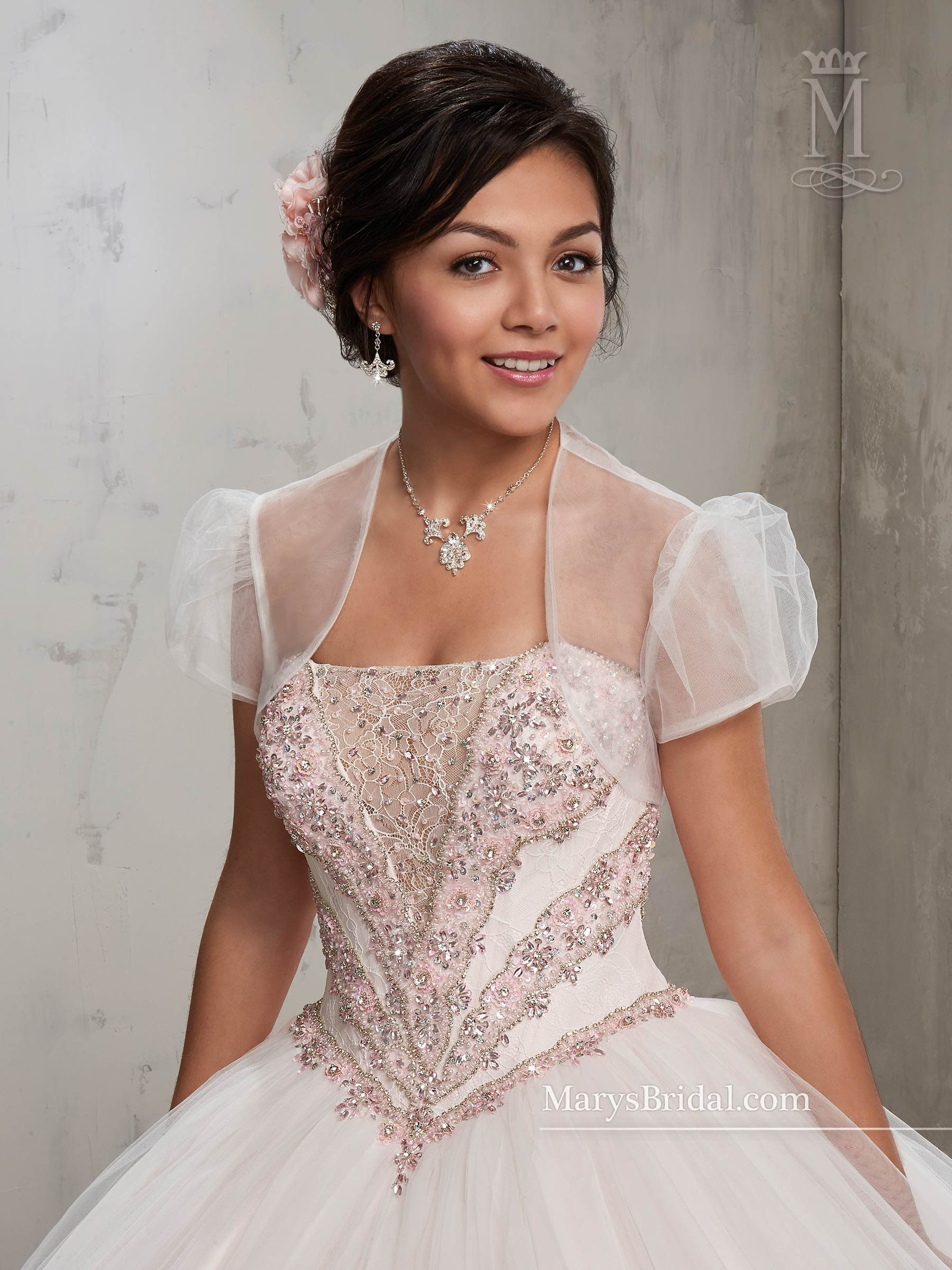 af32b827263 Strapless A-line Quinceanera Dress by Mary s Bridal Beloving 4809 ...