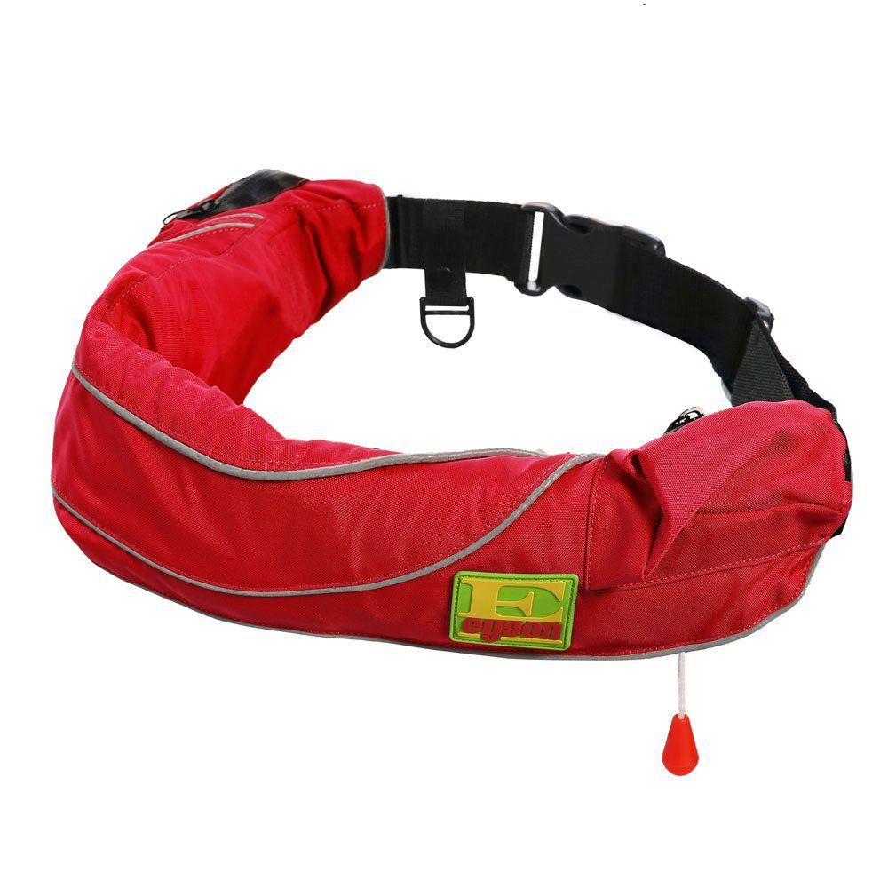 Eyson inflatable life jacket life vest life ring belt pack