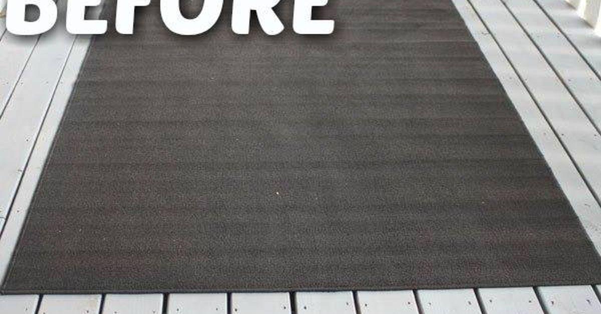 Diy outdoor rug outdoor rugs diy outdoor outdoor crafts