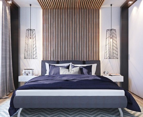 Similarly The Master Bedroom Is Not Massive But Simple Relaxing Colors Like Deep Purple Gray
