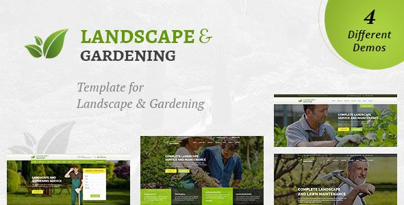 Landscaping - Landscape & Gardening HTML Template | Template ...