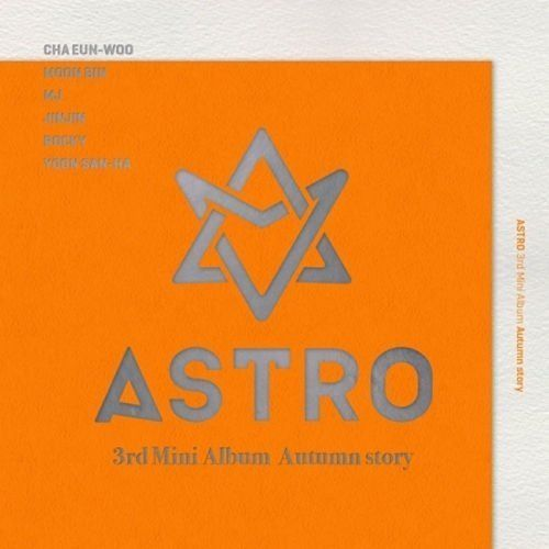 ASTRO [AUTUMN STORY] 3rd Mini Album B Ver [Orange] Package