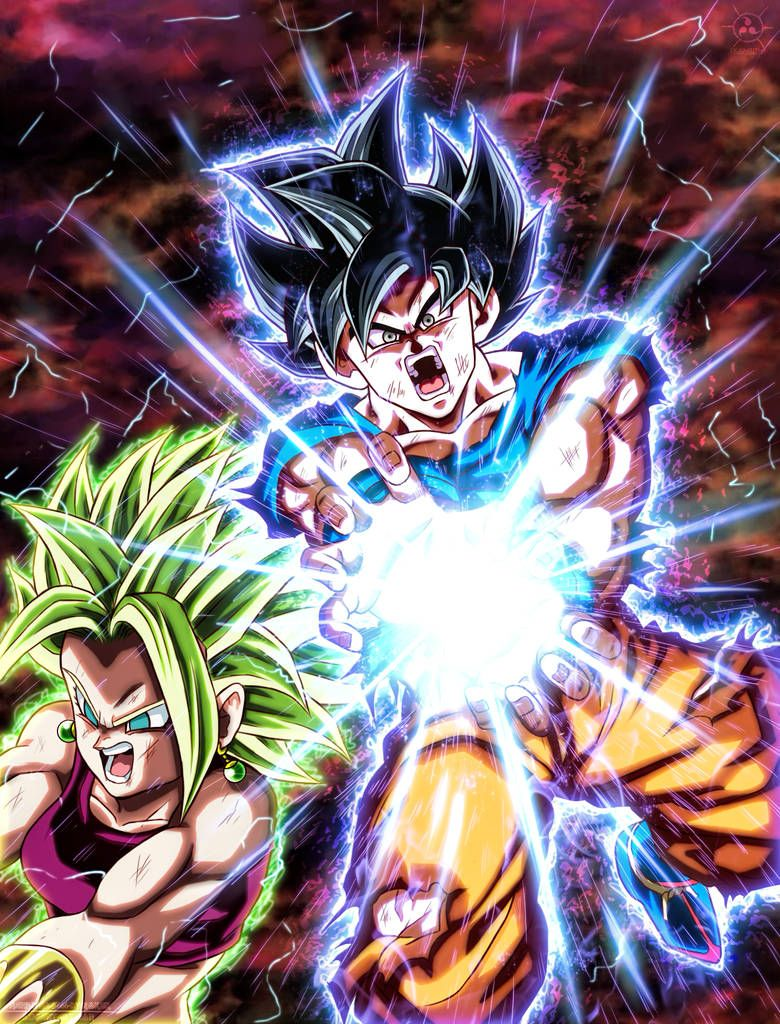 Goku vs Kefla by Argen-0042 on DeviantArt