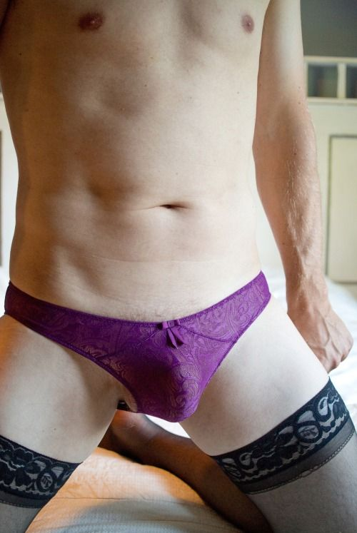 Gaynnylons Chadfce Lovely Nice Ass In Those Lacy Pantys Massage That Ass With My Hard Cock Mmmmn Yummy