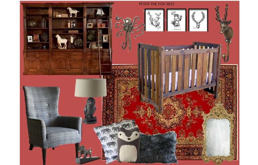 Game of Thrones inspired nursery. This one is my husband\'s favorite ...