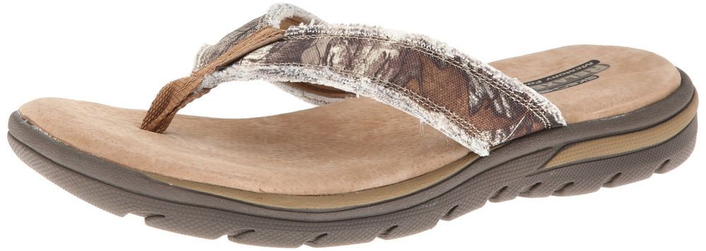 Skechers Supreme Cayuga Relaxed Fit 360 Flip Flops Sandals