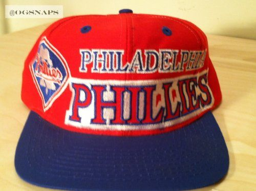 444b786918c Philadelphia Phillies Vintage Snapback Hat