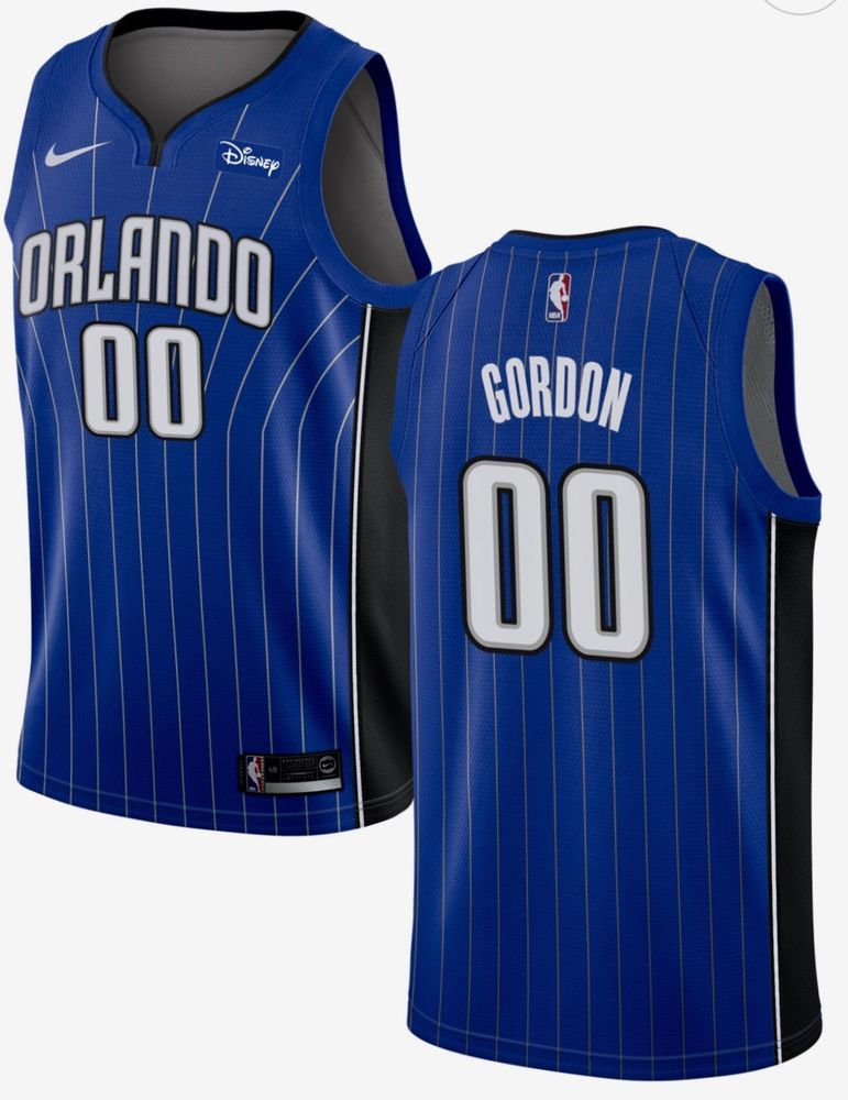 744717714 NWT Orlando Magic Aaron Gordon  00 New Nike Blue Swingman NBA Jersey XXL  2XL (eBay Link)