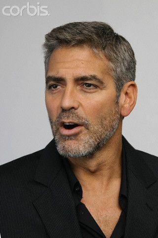 George Clooney Daily Grey Hair Men George Clooney George Clooney Style