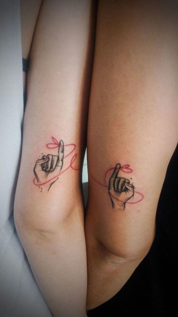As Novas 33 Tatuagens para fazer com a melhor AMIGA - Página 6 de 7 - 123 Tatuagens
