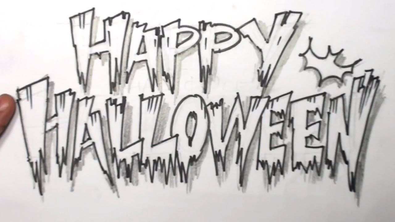 2019 year for girls- Halloween Happy fonts pictures