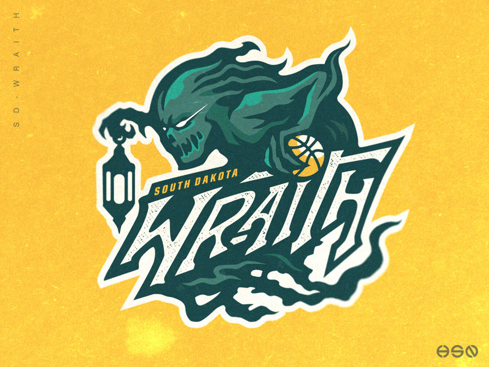South Dakota Wraith Basketball Logo in 2020 (With images)