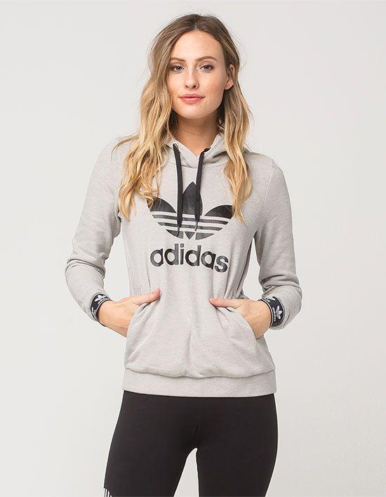 ADIDAS Slim Womens Hoodie   Slim fit hoodie, Sweatshirts