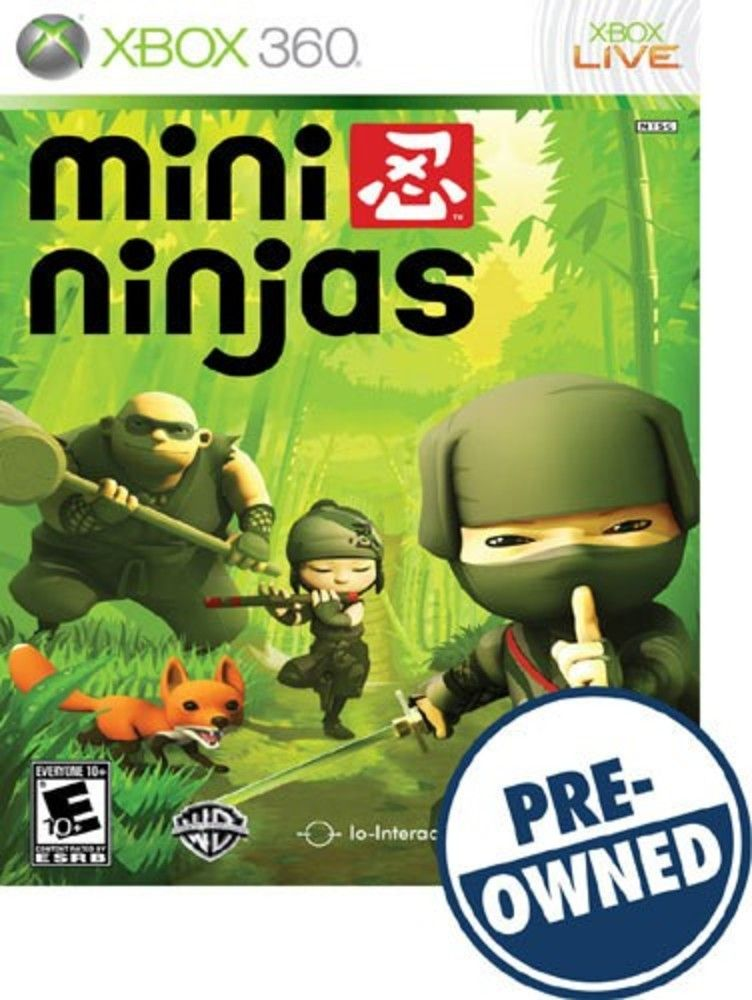 Mini Ninjas — PRE-Owned - Xbox 360 | Products | Xbox 360