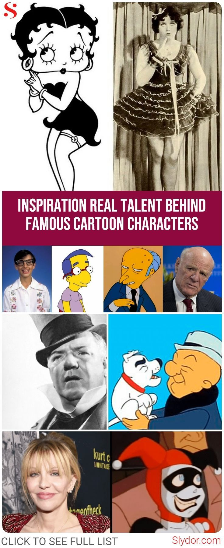 15 Famous #Cartoon #Characters You Never Knew Were # ...