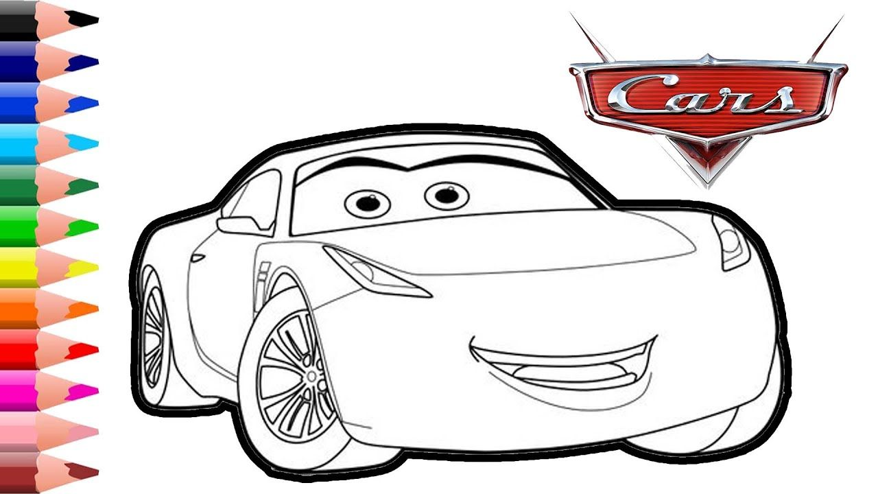 Disney Pixar Cars Cruz Ramiez Drawing And Coloring Pages Sport Car C Pixar Cars Disney Pixar Cars Cars Coloring Pages [ 720 x 1280 Pixel ]