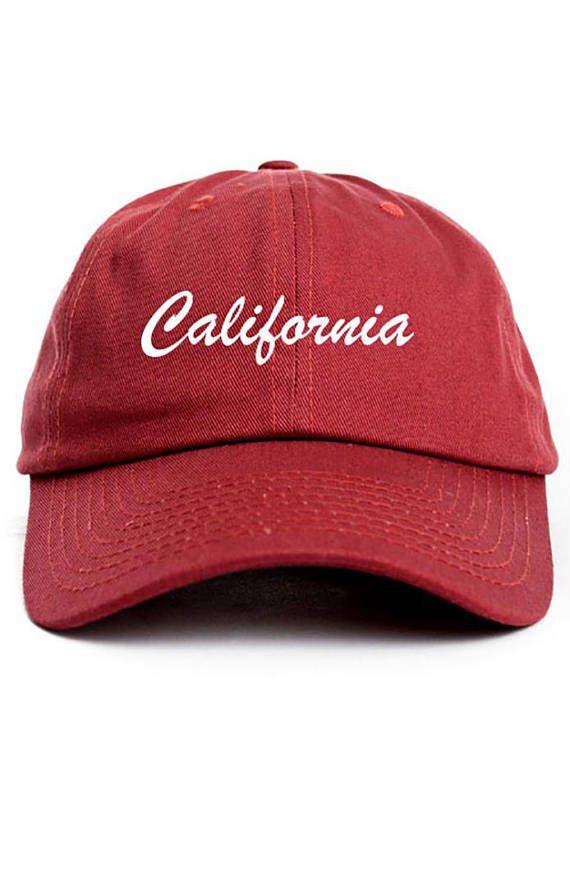 California Dad Hat Adjustable Baseball Cap New - Cardinal  27fe9dd5d06
