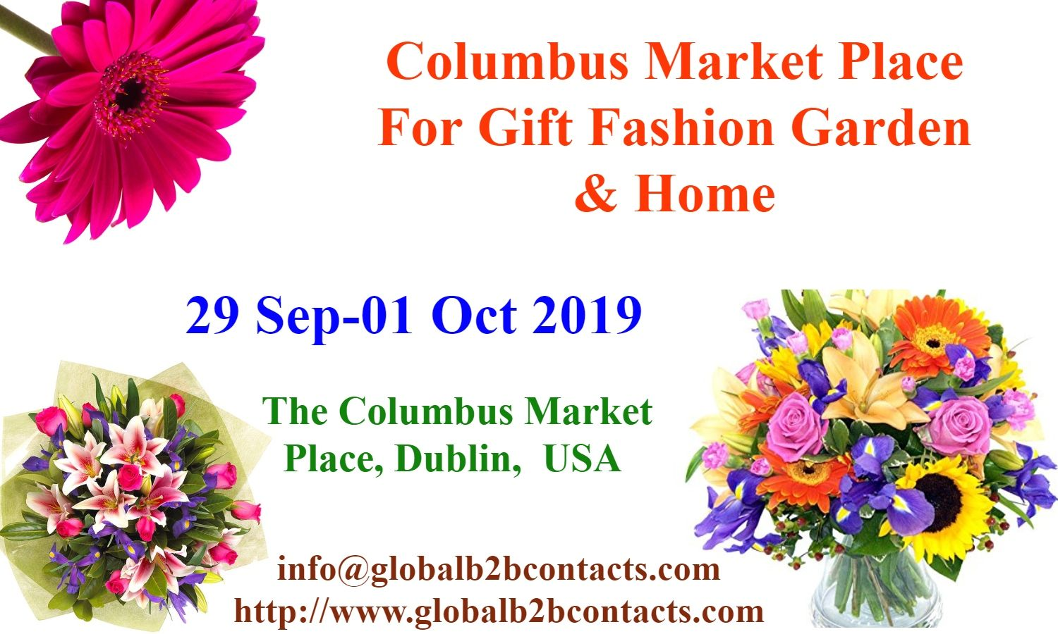Columbus Market Place For Gift Fashion Garden & Home is a