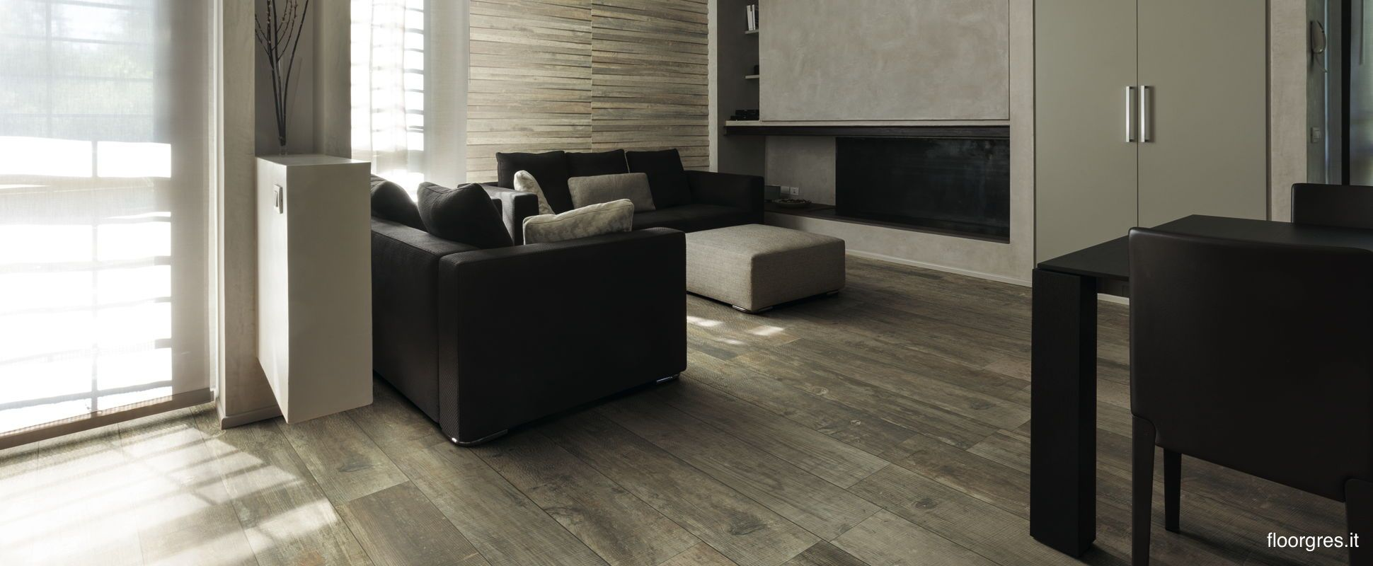 Styletch - Fine porcelain stoneware Floor Gres Definitely check this company out - they do both contemporary floor and wall tiles, so would be coordinated