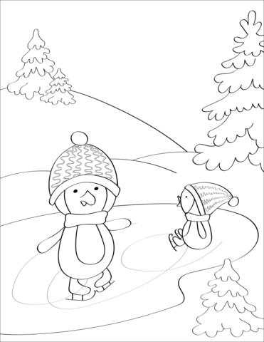 winter malvorlagen   ausmalbilder, ausmalen, malvorlagen