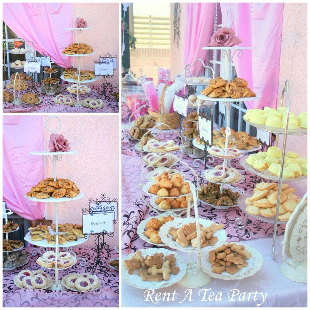 Rent A Tea Party: Dessert Bar! Rent Tea Stands