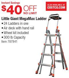 Instant Savings 40 Off No Limit Little Giant Megamax Ladder 24