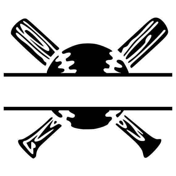 Digi tizers baseball split monogram svg studio v3 jpg we also make shirts vinyl decals wall art koozies and more if you would like any of our