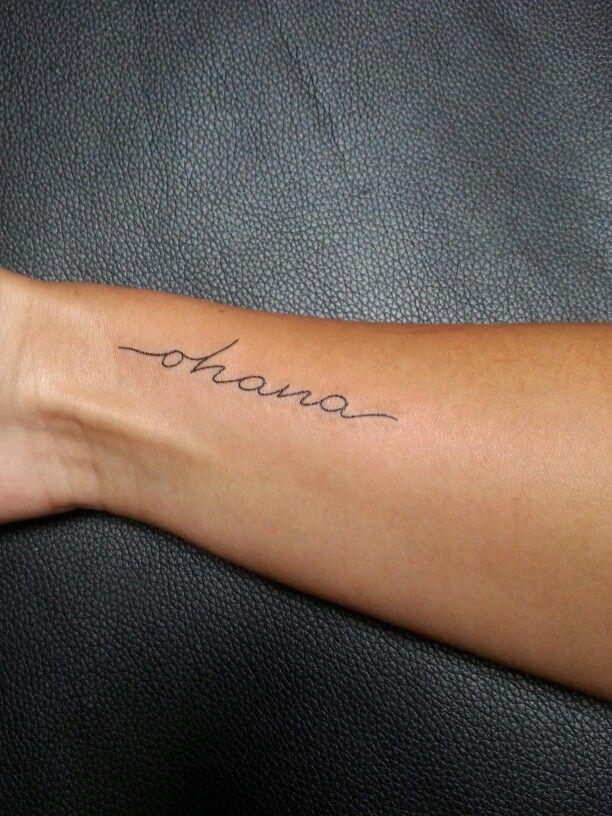 Ohana Tattoos Pinterest Tatuaje Ohana Tatuajes And Ohana