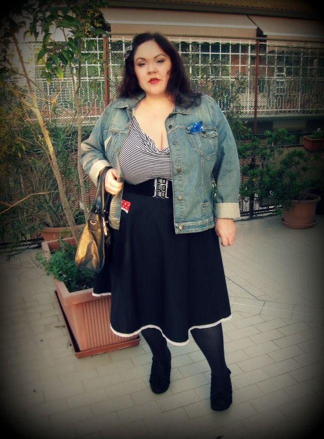 tailor made retro skirt by sara