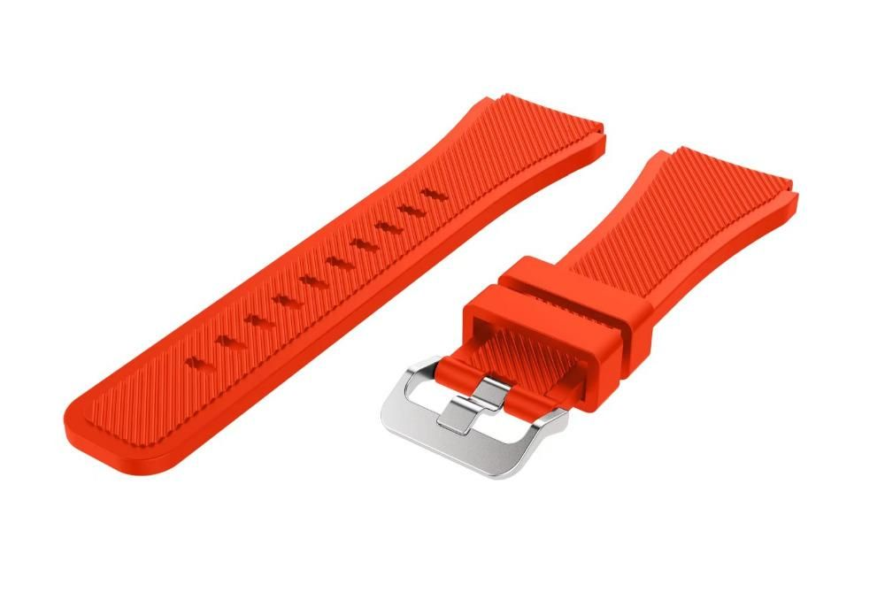 BIGBANG Soft Silicone Watch Band Strap for 46mm Samsung Galaxy Gear S3 Frontier/Classic