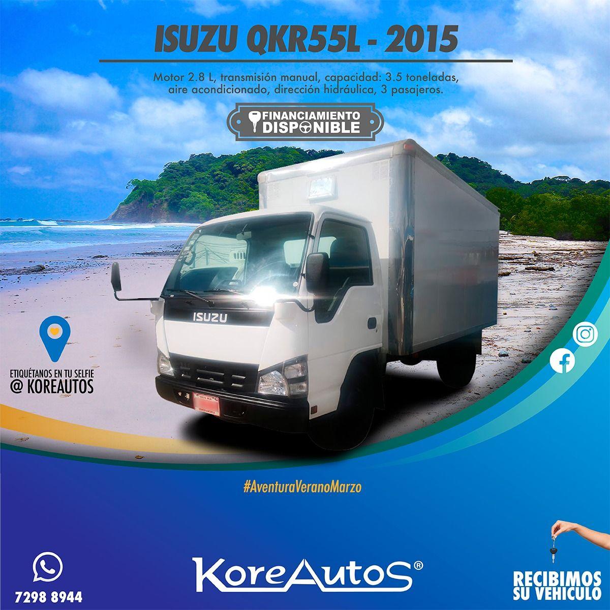 Isuzu Qkr55l 2015 Recreational Vehicles Vehicles