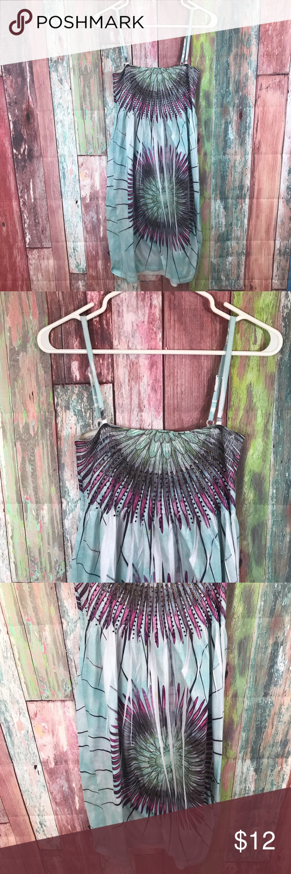 bc7e3898a9 Summer Dress or beach cover up Summer Dress or beach cover up Adjustable  straps In great condition India Boutique Dresses