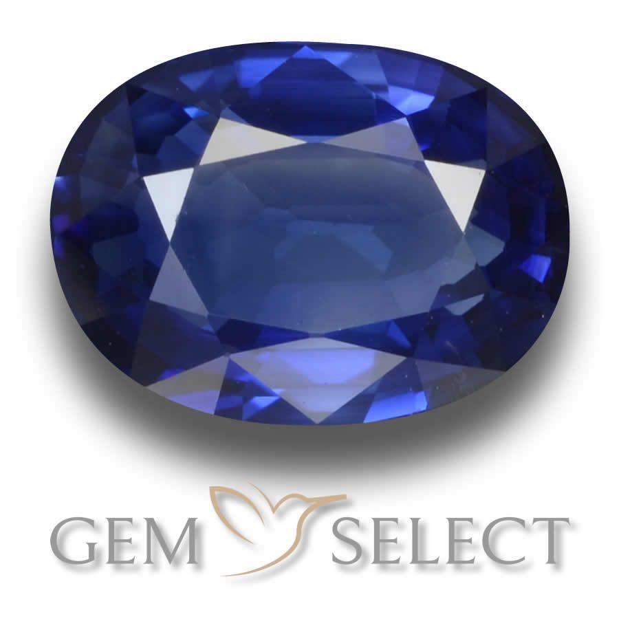 3 34 Ct Royal Blue Sapphire In 2020 Blue Gems Sapphire Gemstone Blue Sapphire