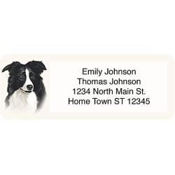 Add Some Style To Your Envelopes With These Preppy Address Stickers Featuring A Blue And White Plaid Accent For Added Excitement Arrive On