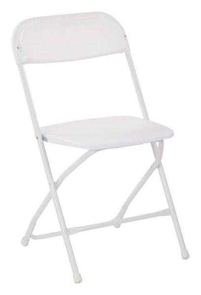 10 Rc Series White Metal Plastic Chairs Plastic Folding Chairs