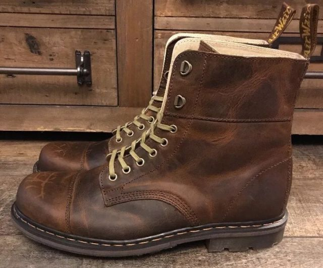 Mens Gideon Distressed Size Dr Martens Greenland Boots 14 Leather Us cAL54R3qj