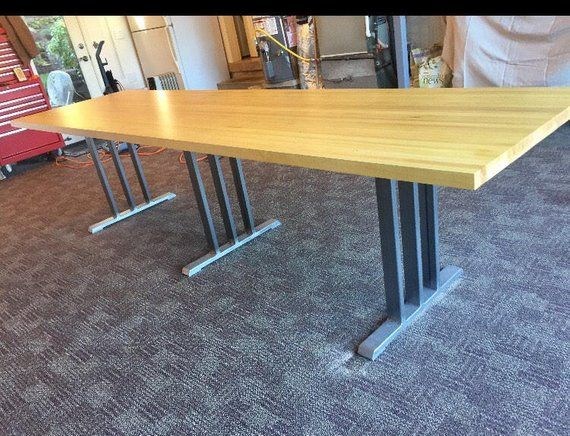 Design Conference Table Base Sy And Heavy Duty Steel Set Of 3 Legs 2 Upper Cros