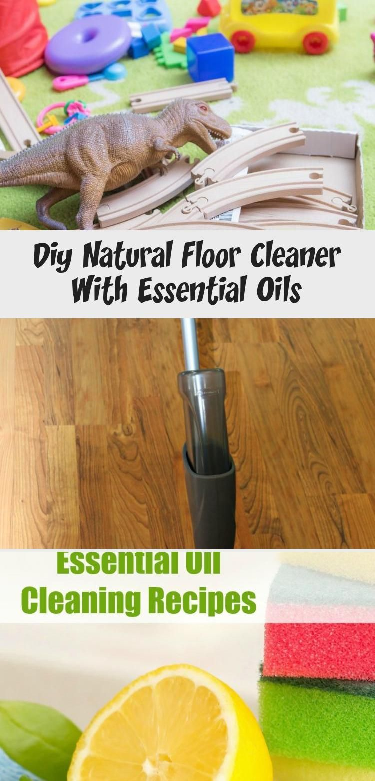 Diy Natural Floor Cleaner With Essential Oils Natural