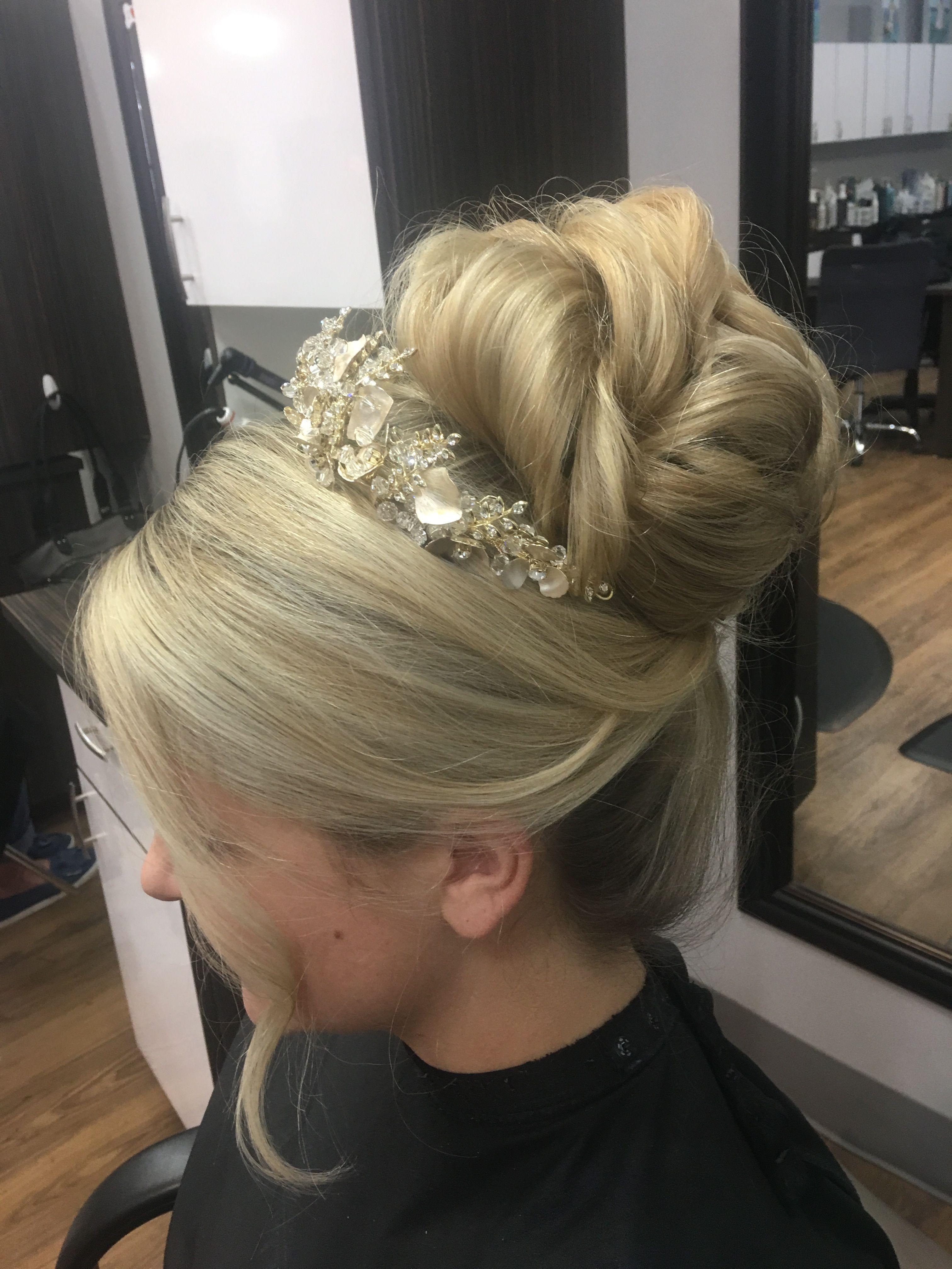 just had my hair trial. my wedding hair for november 10th