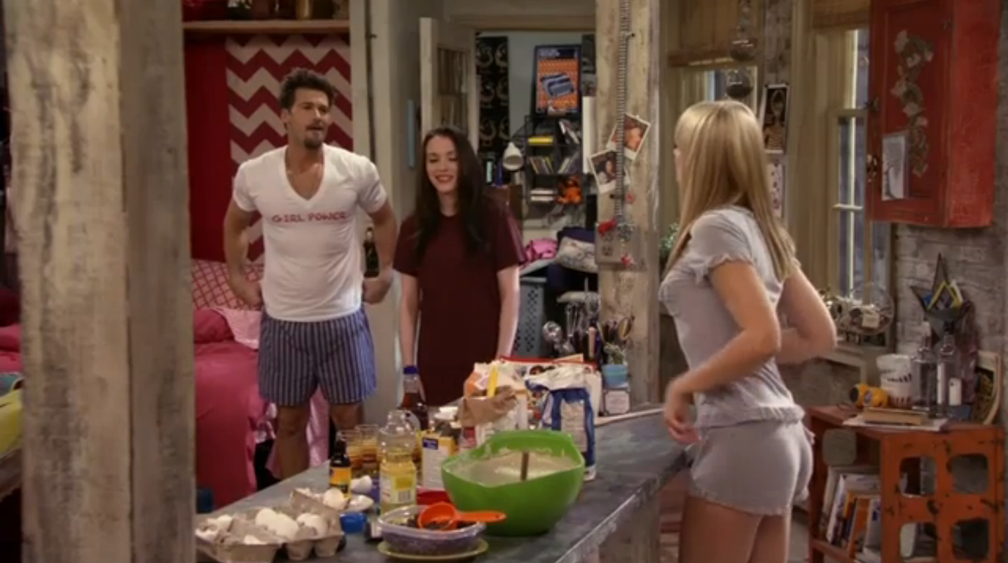 Beth behrs 2 broke girls s02e07