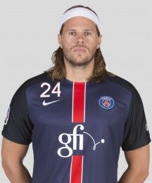Mikkel Hansen, Fielder of Paris Saint-Germain Handball.