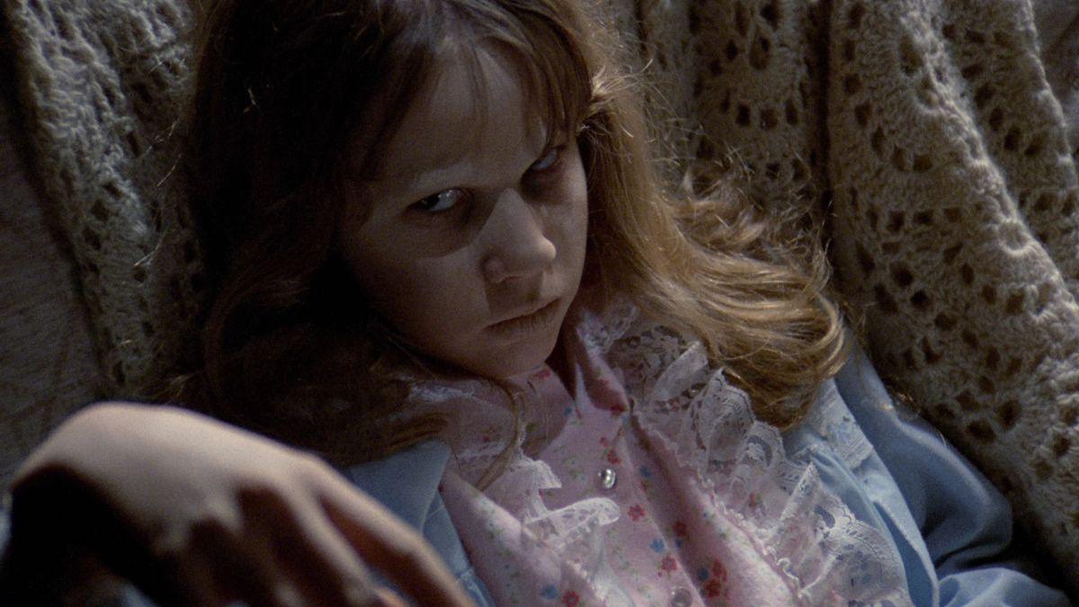The Exorcist Bluray Linda Blair Darkside