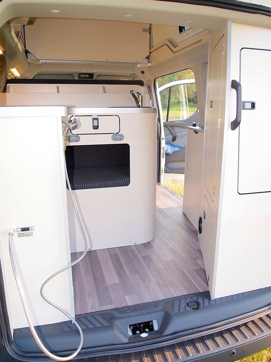 Hire Ford Nugget Westfalia Motorhome