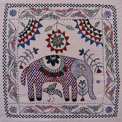 Traditional Kantha Embroidery From Bangladesh Traditional