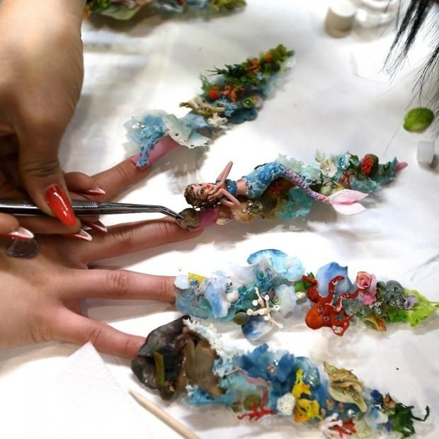 Competition nailstaking nail art to a whole new level check competition nailstaking nail art to a whole new level check out prinsesfo Images